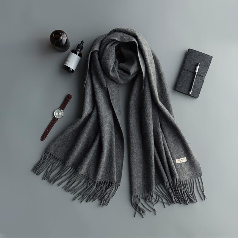 男士围巾到底有多重要?冬天要来了你不来一条嘛!  秋11月 第28张