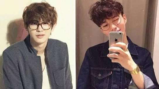 戴眼镜的男生适合什么发型?  春5月 第3张