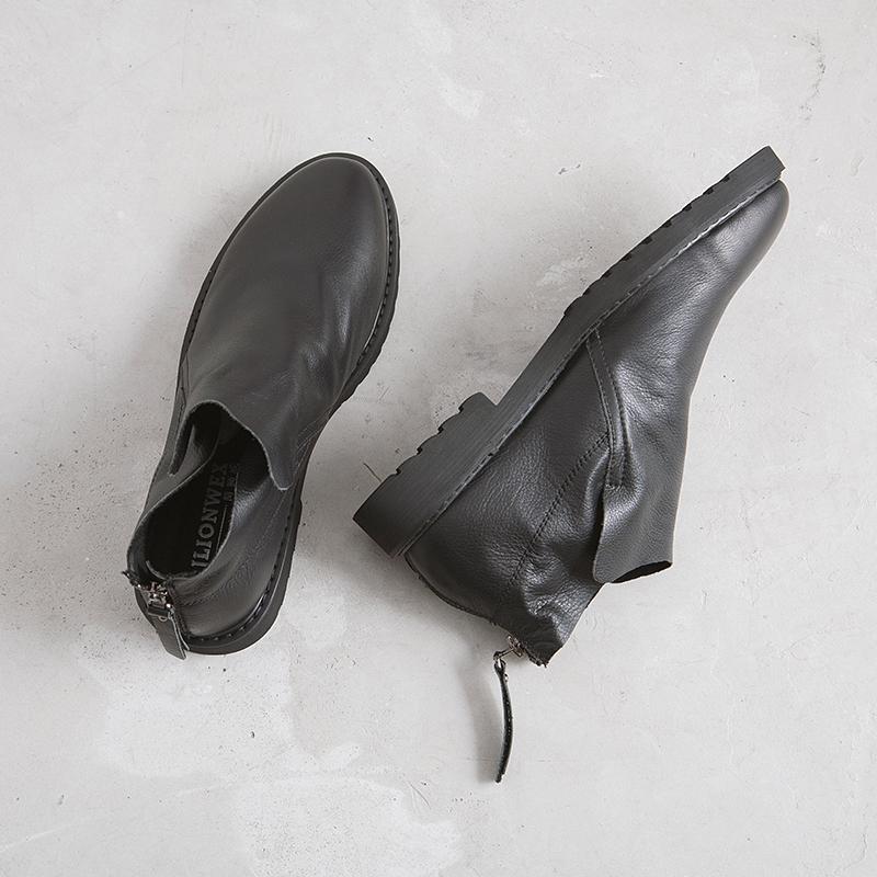 还在用大衣配球鞋?型男们早就开始配短靴了  秋11月 第17张