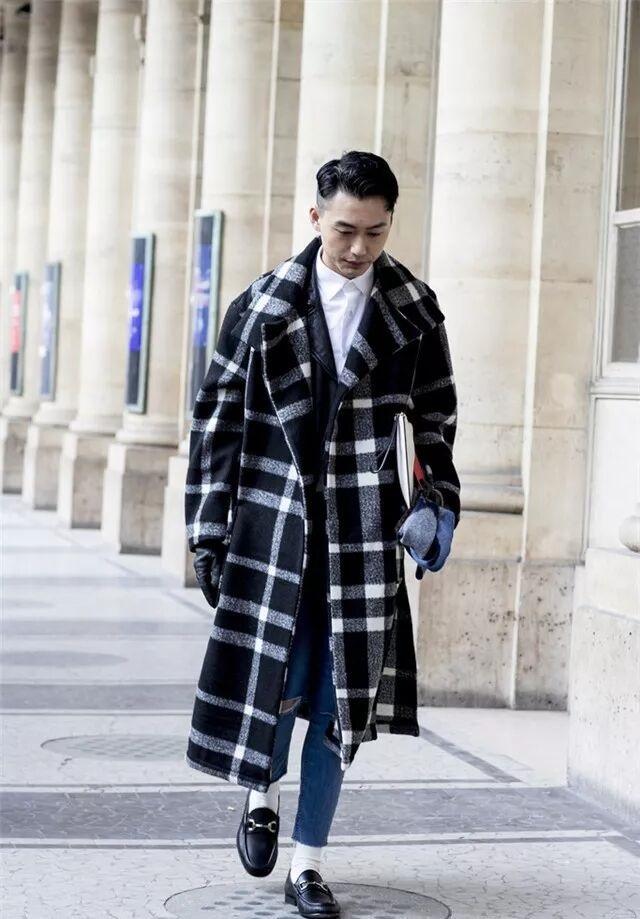 大衣怎么穿才有型?时尚博主们来支招了  秋11月 第6张