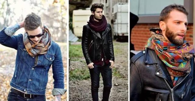男士围巾到底有多重要?冬天要来了你不来一条嘛!  秋11月 第23张