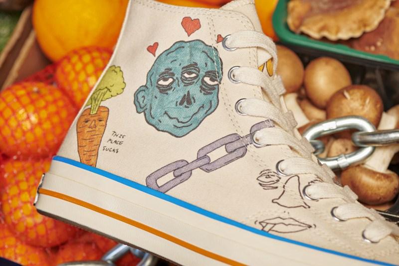 """趣味涂鸦装扮!超高人气 Converse """"小花联名"""" 即将发售  秋11月 第5张"""