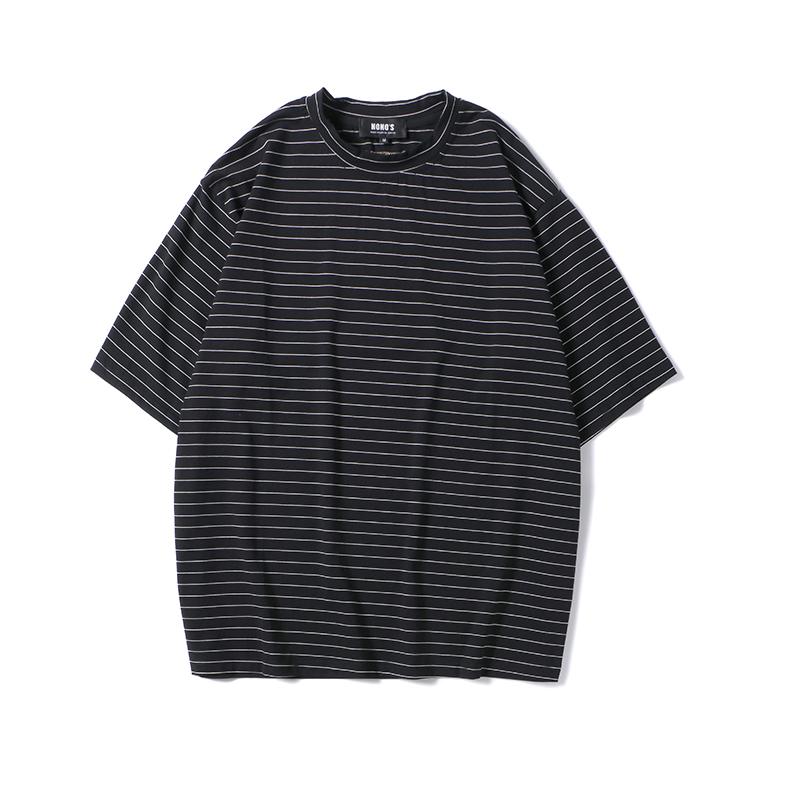 KEYWORD 新品 | 经典条纹T,简约而不失时尚  搭配 第4张