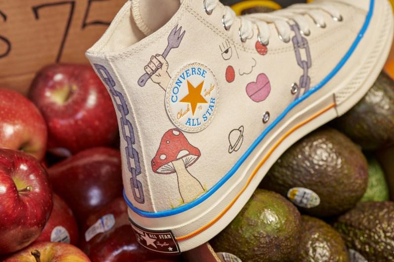 """趣味涂鸦装扮!超高人气 Converse """"小花联名"""" 即将发售  秋11月 第4张"""