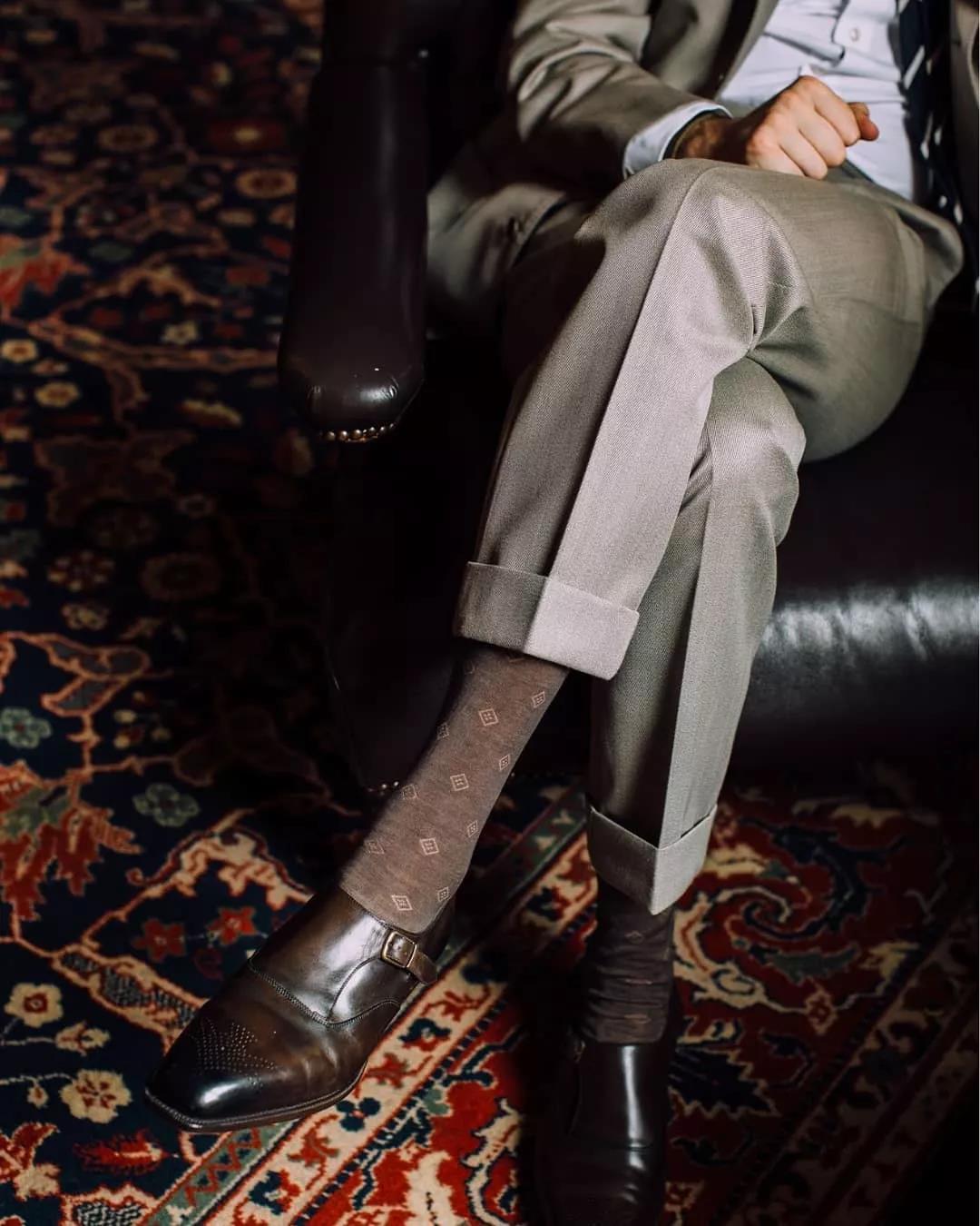 羡慕别人的180cm,不如用这条『九分西裤』管好自己的双腿  秋11月 第1张