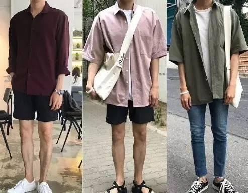夏日男装清爽搭配,简洁又讨喜  夏8月 第8张