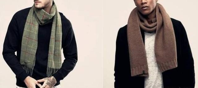 男士围巾到底有多重要?冬天要来了你不来一条嘛!  秋11月 第11张