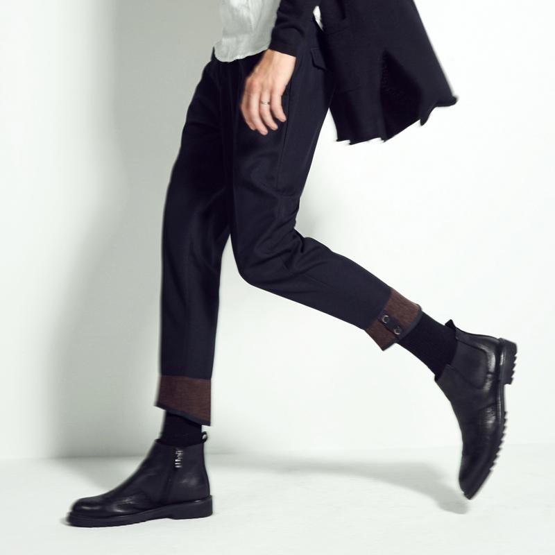 羡慕别人的180cm,不如用这条『九分西裤』管好自己的双腿  秋11月 第27张