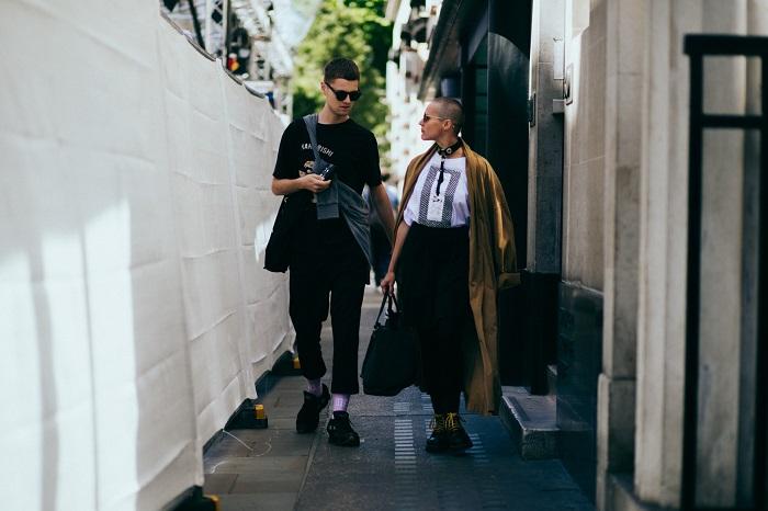 TOP街拍   2018伦敦男装周 小鲜肉帅大叔集体霸屏  夏6月 第4张