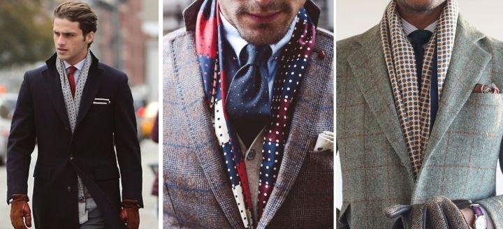 男士围巾到底有多重要?冬天要来了你不来一条嘛!  秋11月 第5张