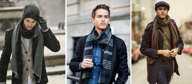 男士围巾到底有多重要?冬天要来了你不来一条嘛!  秋11月 第9张