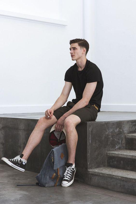 TOP街拍 | 解锁夏日清凉新技能 做一个性感的短裤少年  春5月 第3张