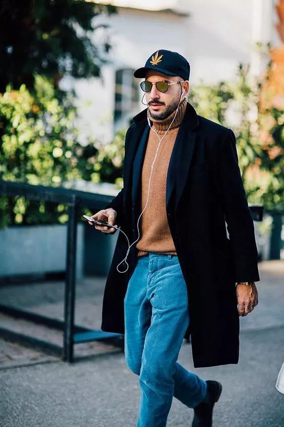 """高领毛衣的冬季,让你体会""""男人式""""的优雅  秋11月 第17张"""