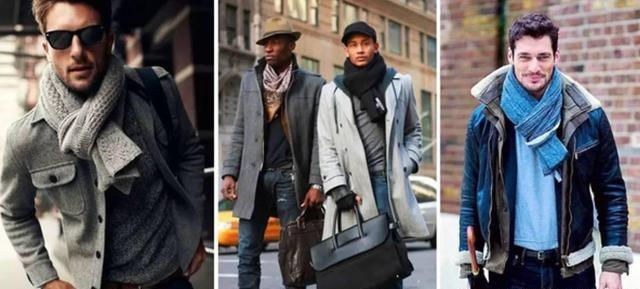 男士围巾到底有多重要?冬天要来了你不来一条嘛!  秋11月 第15张