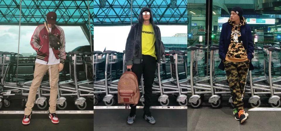 机场当T台!看周汤豪如何用造型帅翻机场  秋11月 第3张