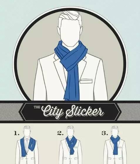 男士围巾到底有多重要?冬天要来了你不来一条嘛!  秋11月 第13张