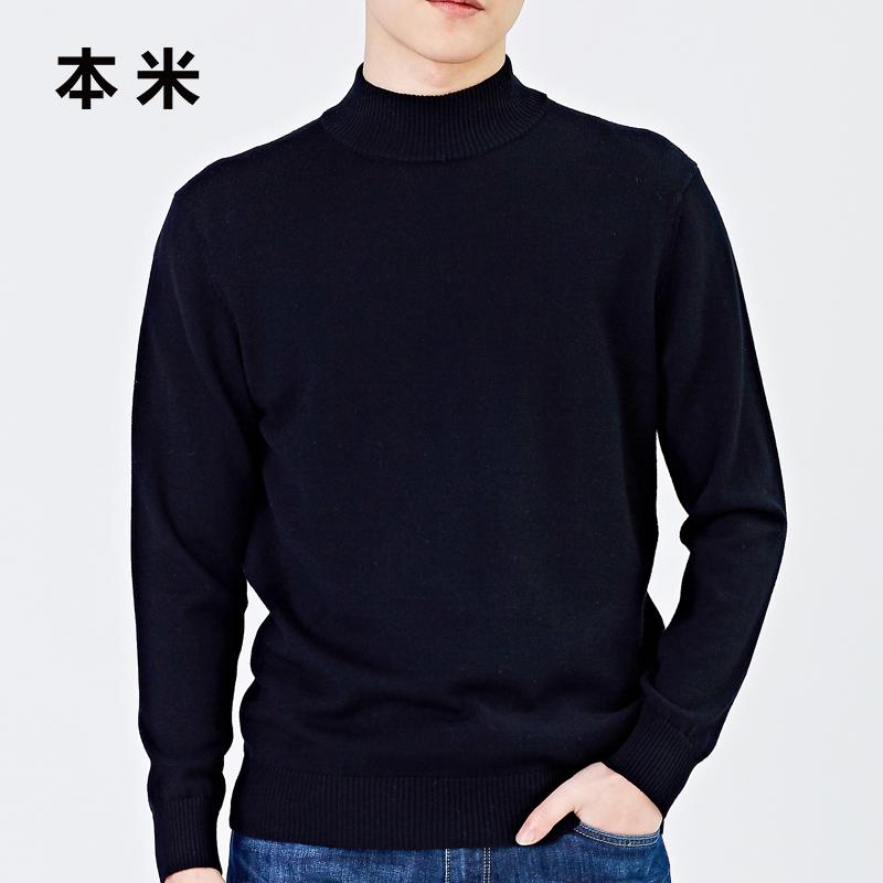 """高领毛衣的冬季,让你体会""""男人式""""的优雅  秋11月 第29张"""