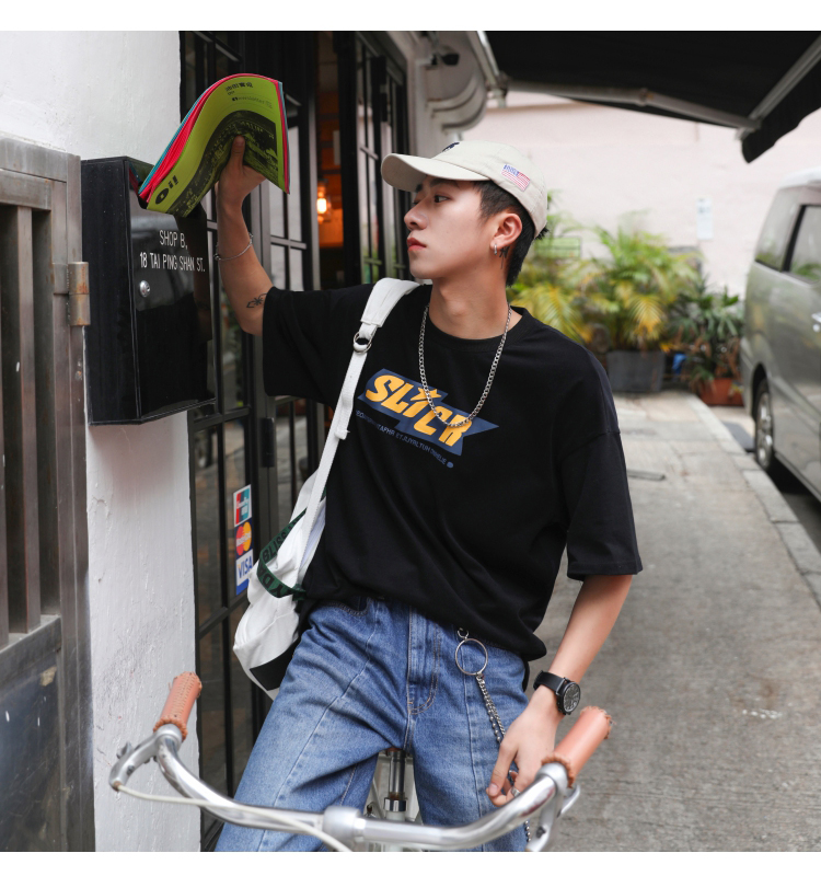 夏季的帅气出街穿搭,韩系型男穿搭示范