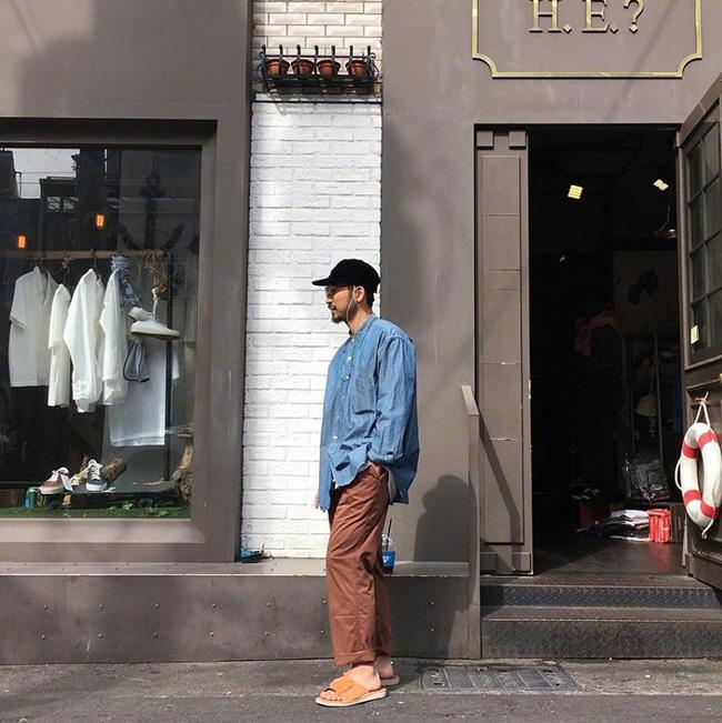 Daily Lookbook | VOL.3 型男大叔的日常穿搭  夏7月 第1张