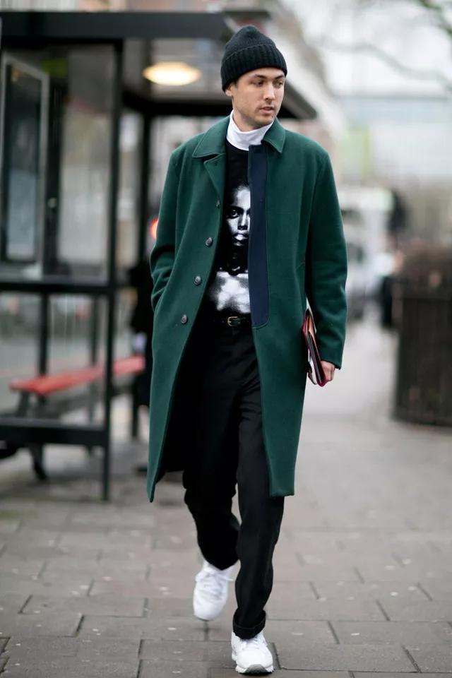 大衣怎么穿才有型?时尚博主们来支招了  秋11月 第16张