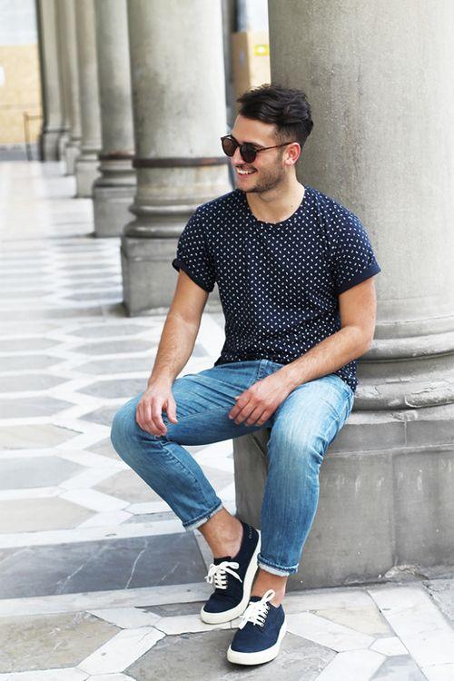 TOP街拍 | 这个夏天一双帆布鞋就能让你帅  夏6月 第7张
