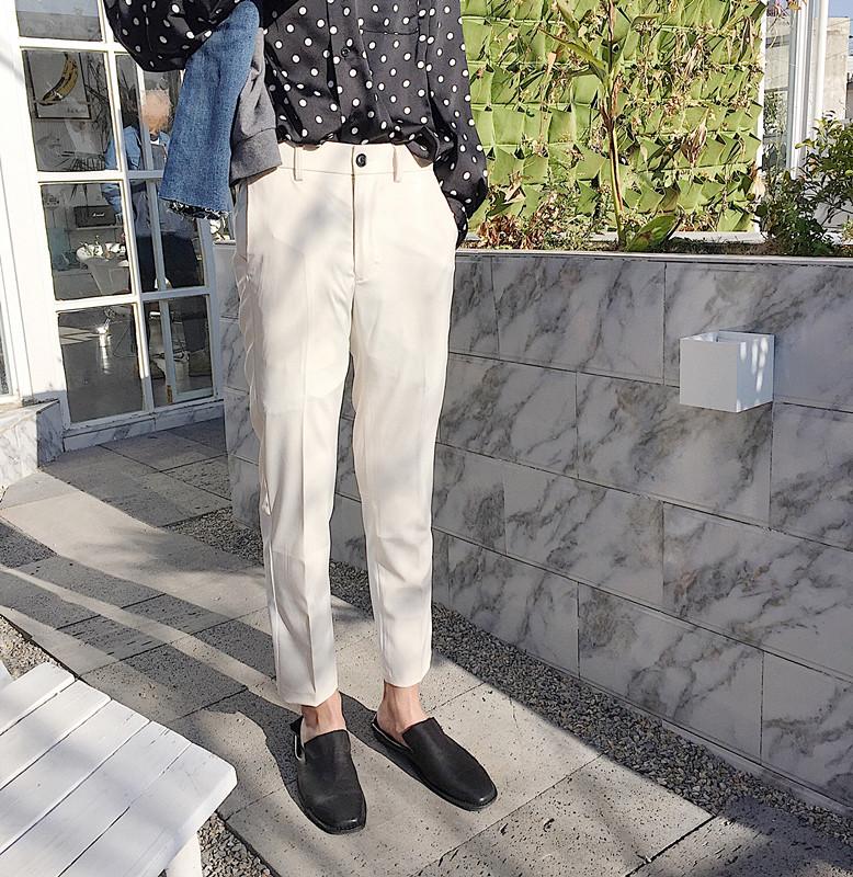 羡慕别人的180cm,不如用这条『九分西裤』管好自己的双腿  秋11月 第28张