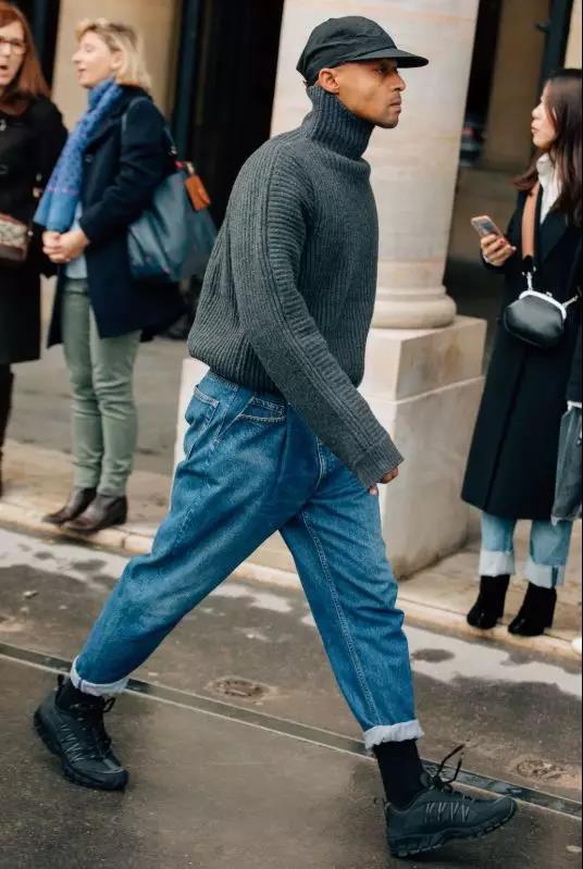 """高领毛衣的冬季,让你体会""""男人式""""的优雅  秋11月 第10张"""