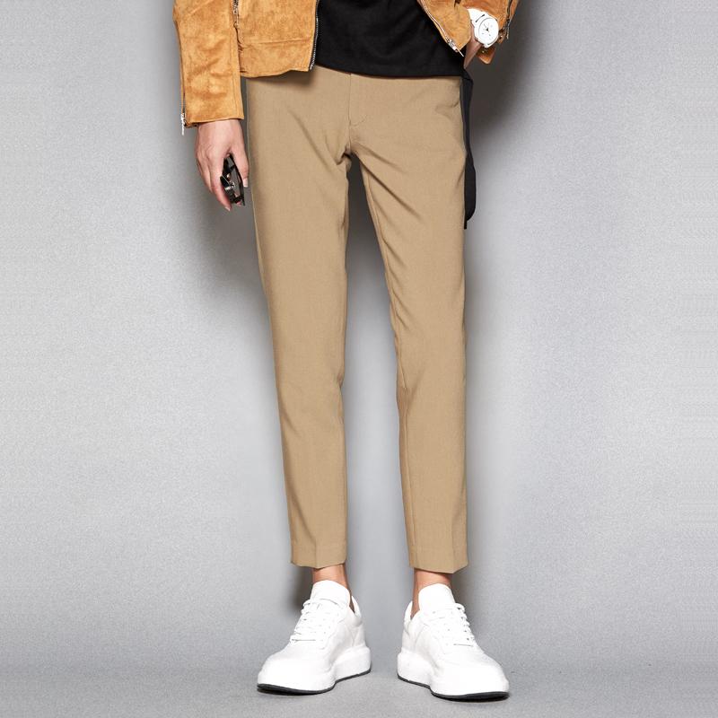 羡慕别人的180cm,不如用这条『九分西裤』管好自己的双腿  秋11月 第25张