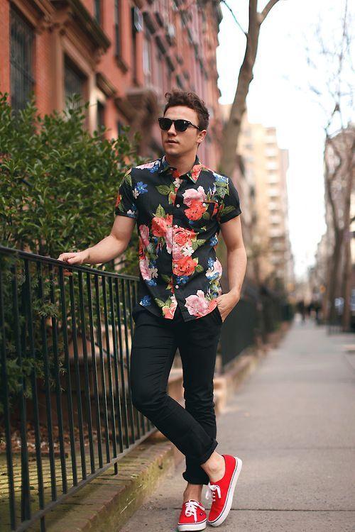 TOP街拍 | 这个夏天一双帆布鞋就能让你帅  夏6月 第10张
