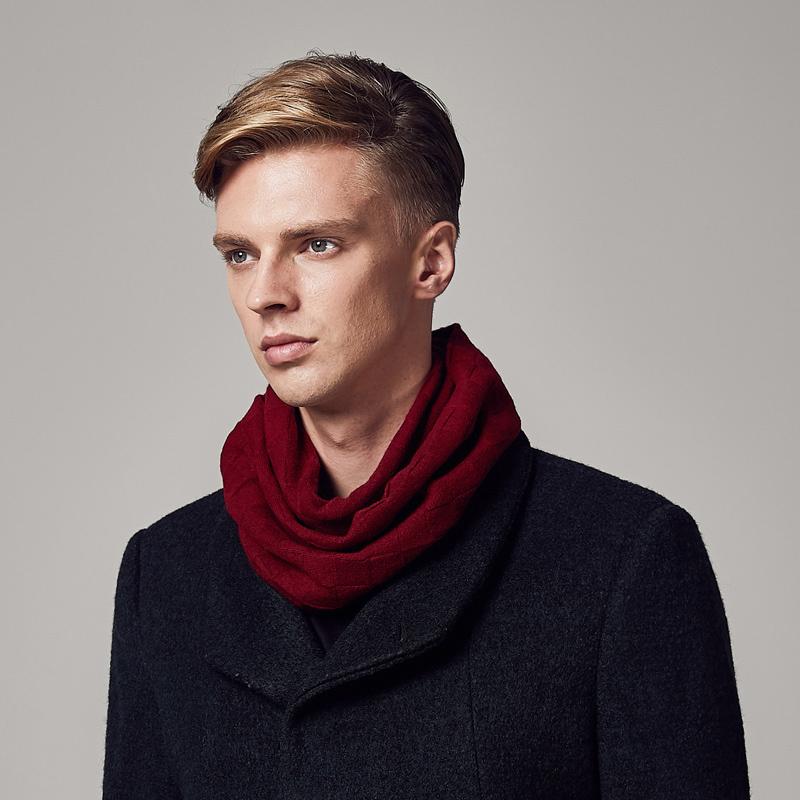 男士围巾到底有多重要?冬天要来了你不来一条嘛!  秋11月 第30张