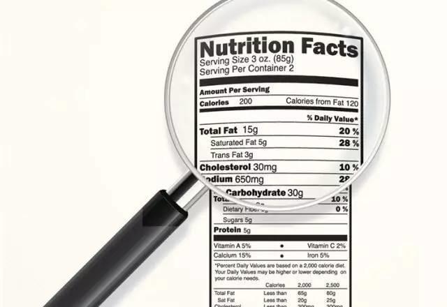 运动补剂上的营养标签你真的看懂了吗?  夏7月 第1张