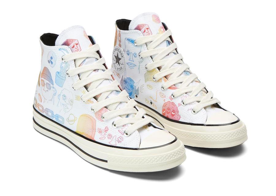 """趣味涂鸦装扮!超高人气 Converse """"小花联名"""" 即将发售  秋11月 第12张"""