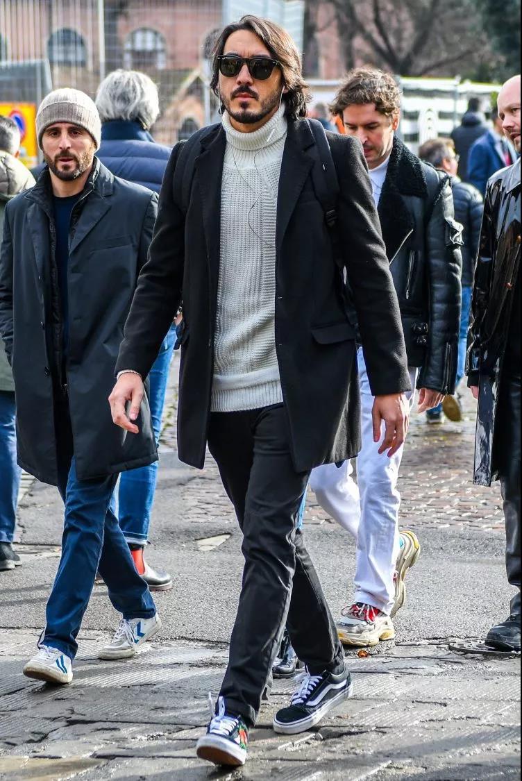 """高领毛衣的冬季,让你体会""""男人式""""的优雅  秋11月 第19张"""