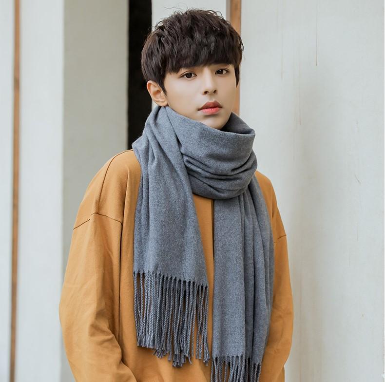 男士围巾到底有多重要?冬天要来了你不来一条嘛!  秋11月 第3张