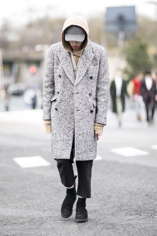 大衣怎么穿才有型?时尚博主们来支招了  秋11月 第11张