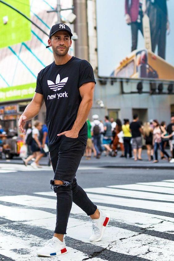 就靠T恤+破洞牛仔裤 这个夏天你简直时髦要上天  夏6月 第12张