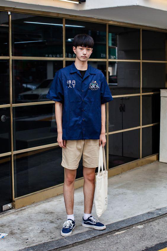 TOP街拍 | 解锁夏日清凉新技能 做一个性感的短裤少年  春5月 第9张