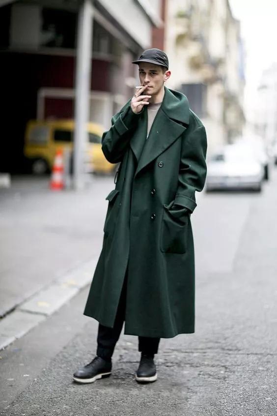 大衣怎么穿才有型?时尚博主们来支招了  秋11月 第17张