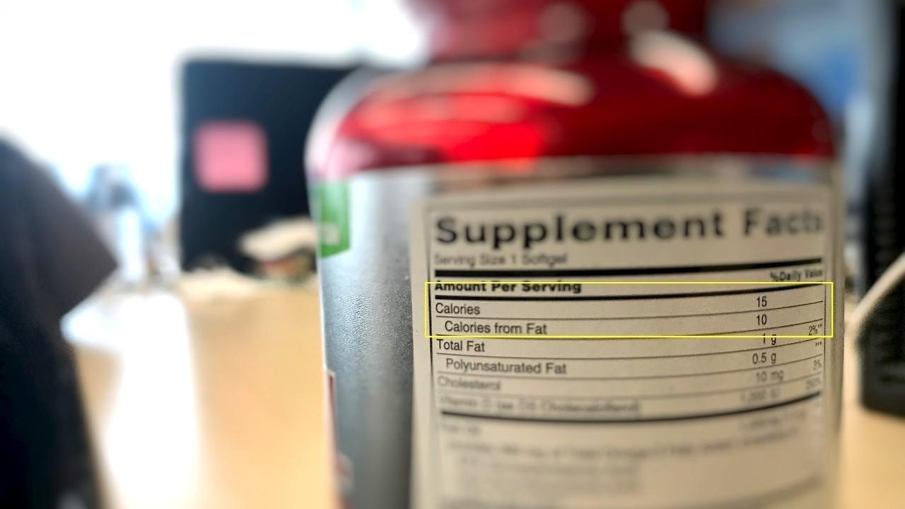 运动补剂上的营养标签你真的看懂了吗?  夏7月 第4张