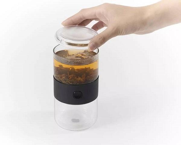 随时随地一键泡茶 连不爱喝茶的都想试试  夏6月 第1张