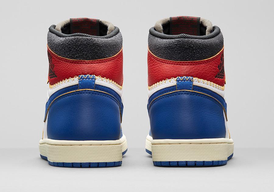 中国区只发一款配色!Union x Air Jordan 1 设计灵感也曝光了!  秋11月 第16张