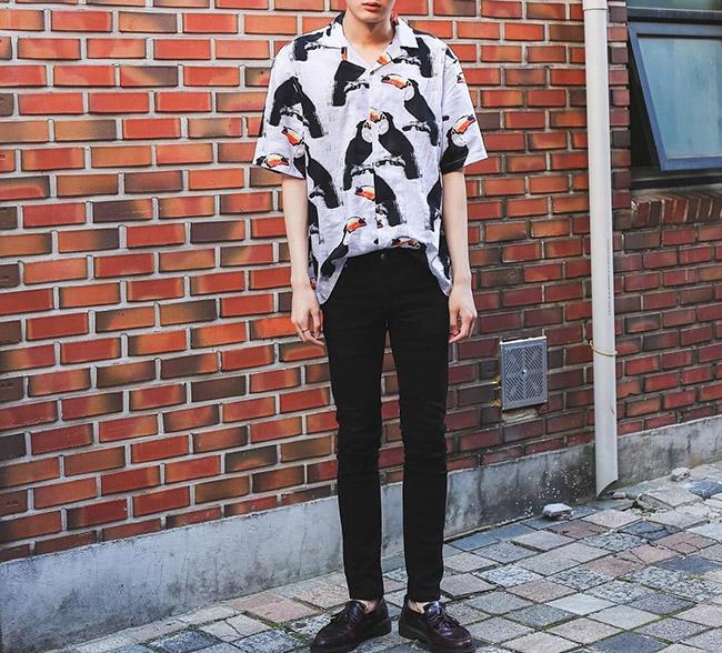 TOP 街拍 | 穿T恤的男生满大街,靠这件单品我脱颖而出  夏6月 第4张
