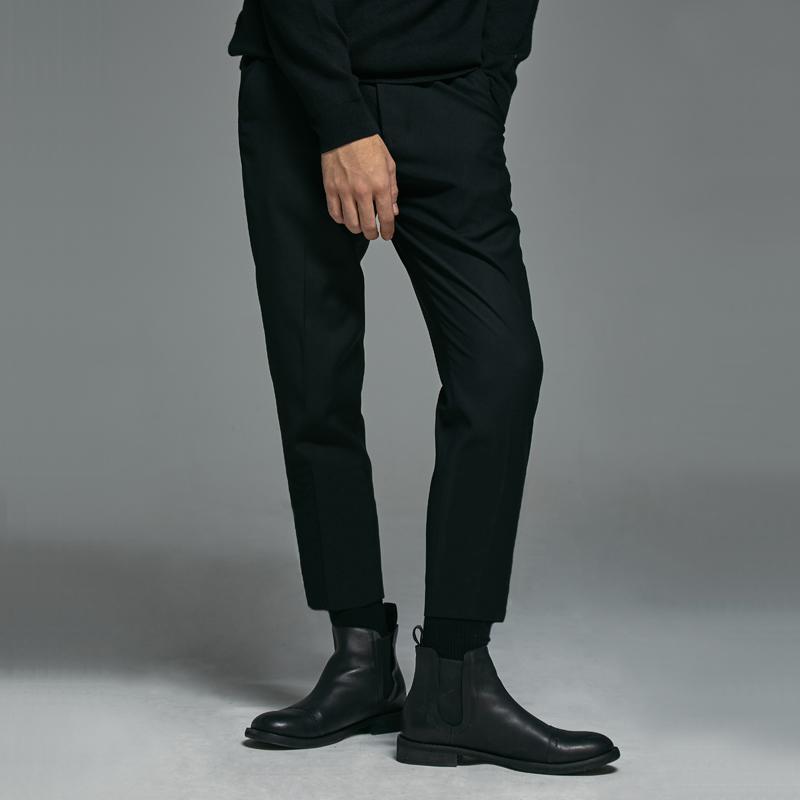 羡慕别人的180cm,不如用这条『九分西裤』管好自己的双腿  秋11月 第24张