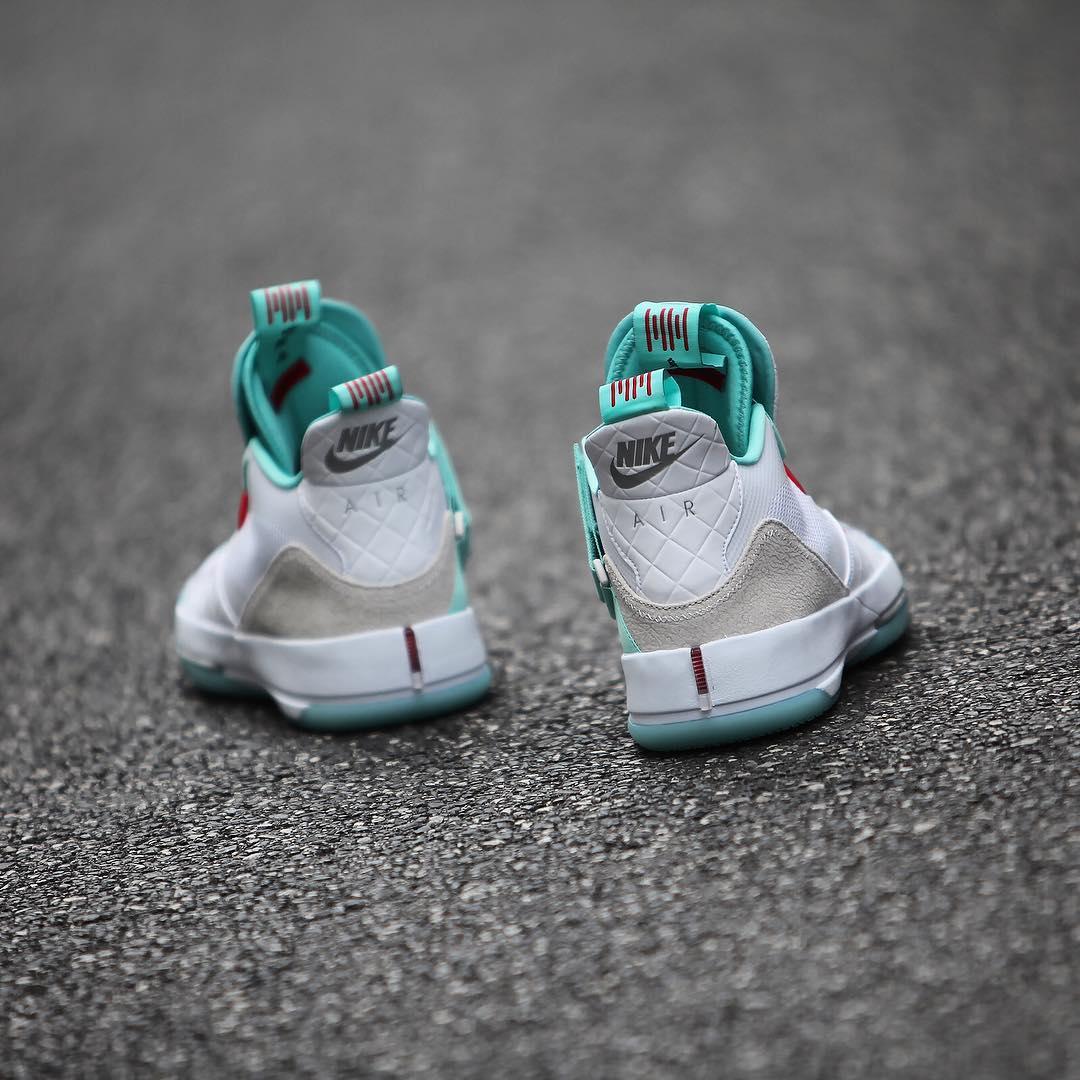 仅在国内发售!Air Jordan 33 郭艾伦 PE 即将发售!  秋11月 第5张