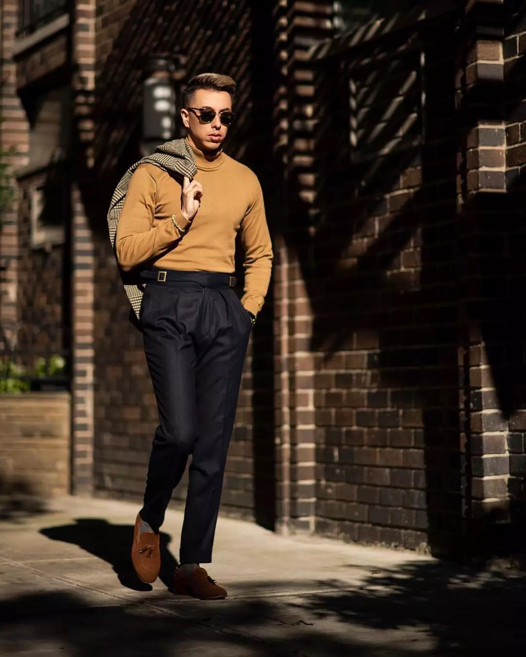 2018秋冬流行的型男毛衣,如何穿出时尚feel?  秋11月 第9张
