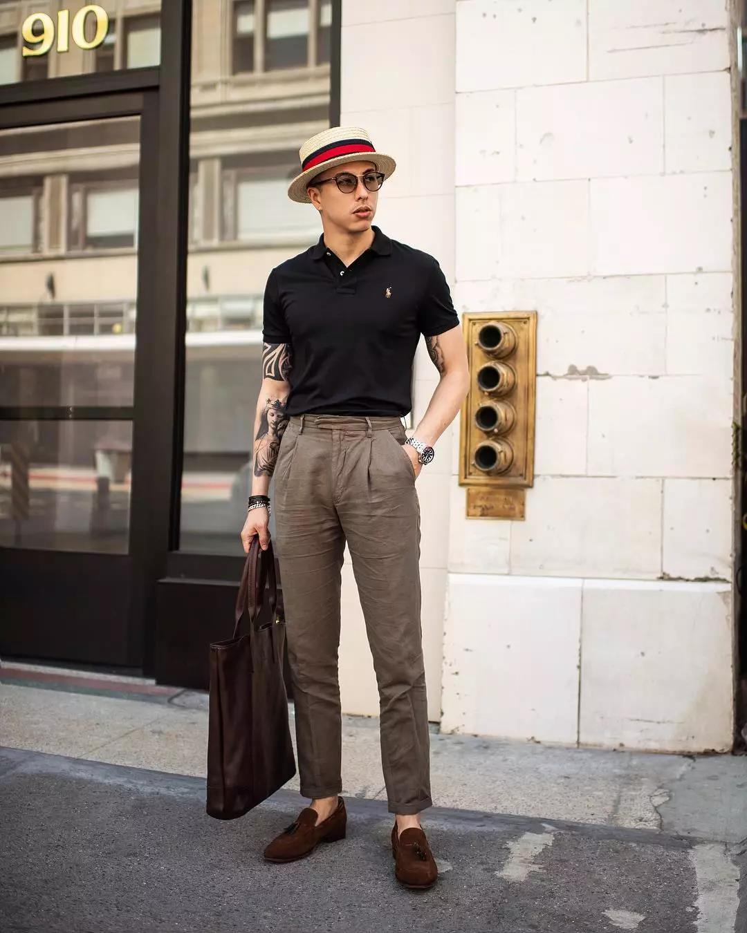 羡慕别人的180cm,不如用这条『九分西裤』管好自己的双腿  秋11月 第6张