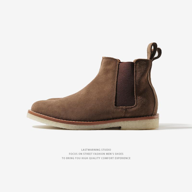 还在用大衣配球鞋?型男们早就开始配短靴了  秋11月 第15张
