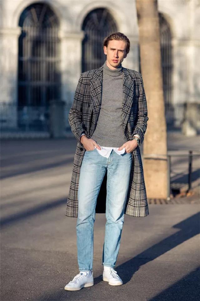 大衣怎么穿才有型?时尚博主们来支招了  秋11月 第10张