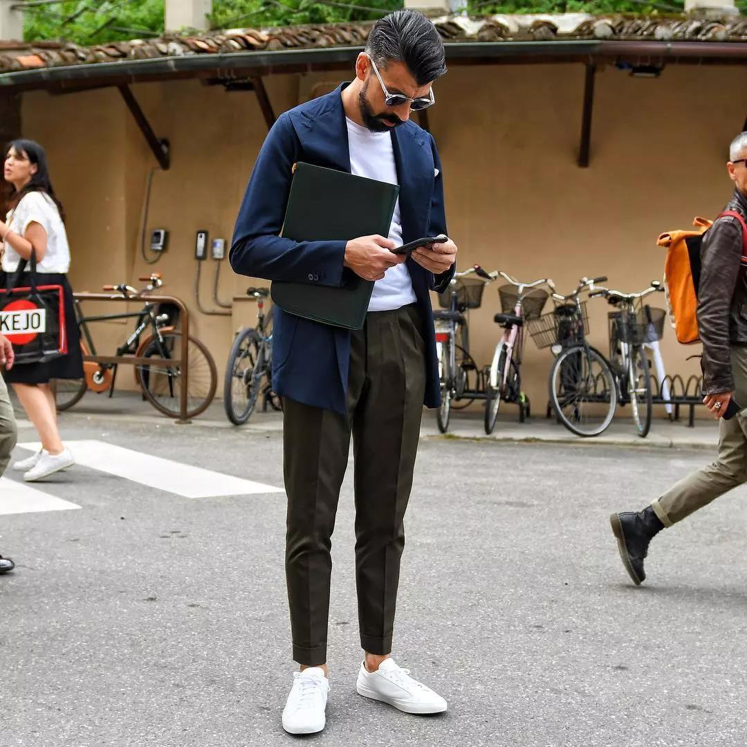 羡慕别人的180cm,不如用这条『九分西裤』管好自己的双腿  秋11月 第7张