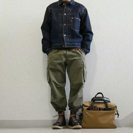 男生要怎么搭配裤子和鞋子?不止关系到腿长  秋10月 第22张